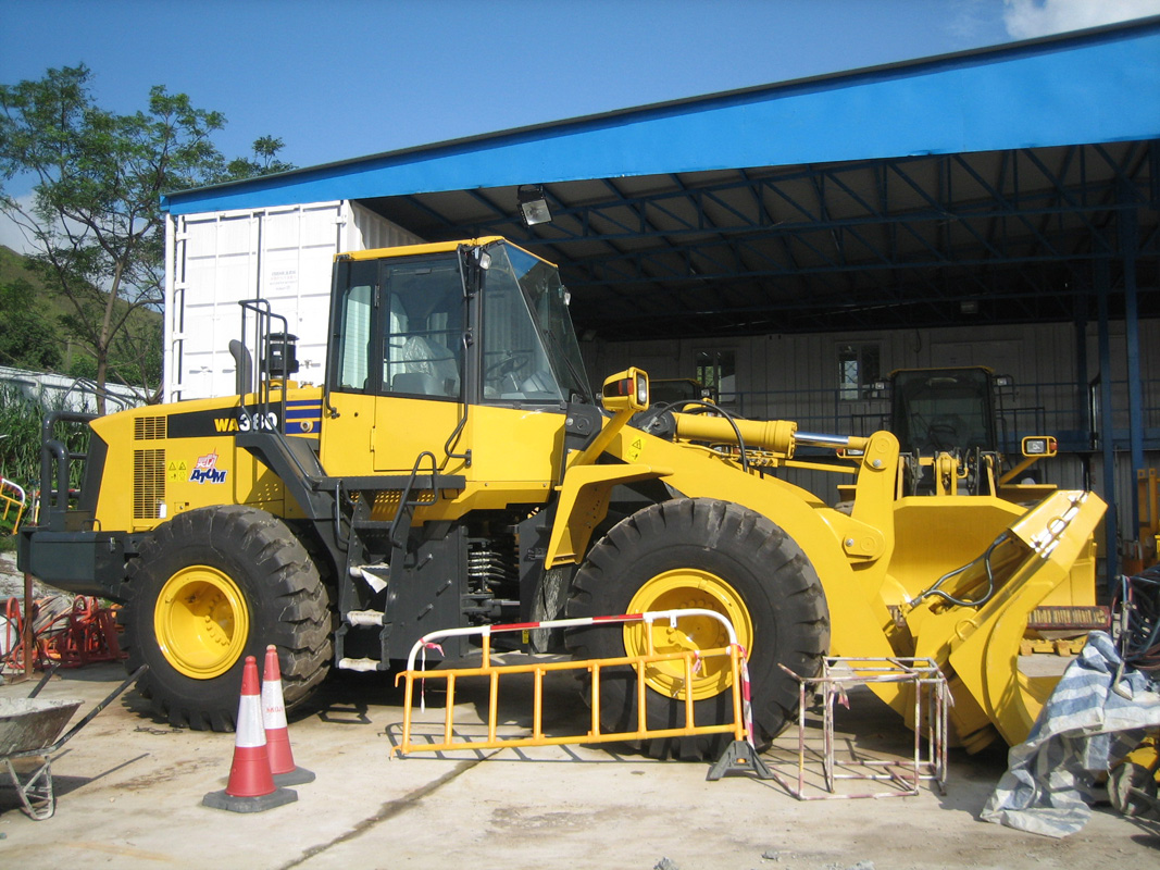 Million Base Komatsu Wheel Loader Arrived